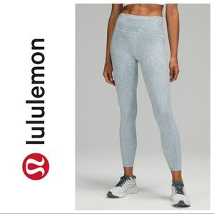 NWT LULULEMON City Grit White Blue Fog- The Fast and Free collection size 12